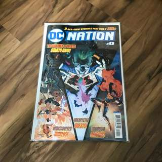 Free with purchase only: Dc Nation #0