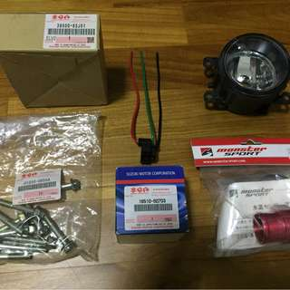 Suzuki Swift Sport (ZC31) Stock Parts