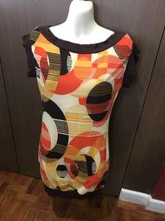Mini Dress Brown