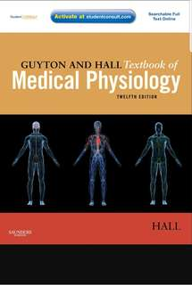 Guyton And Hall Physiology Reference Book 12th Edition