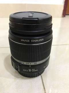 Canon EFS 18-55mm lens (Only Manual focus)