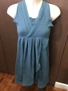 Una Rosa Green Dress