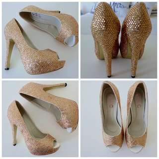 Crystal Couture Custom Heels