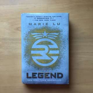 Legend by Marie Lu (Hard bound)