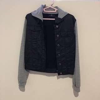 Leather kinda jacket