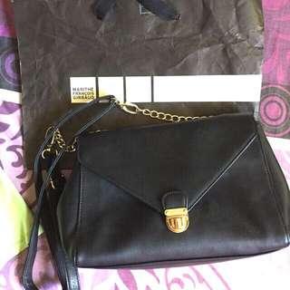 Girbaud Black Sling Bag