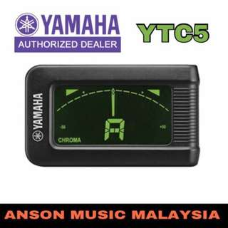 Yamaha YTC5 Clip-On Tuner