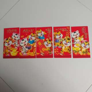5 pcs Red Packet
