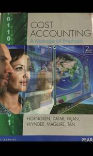 Cost Accounting; A Managerial Emphasis