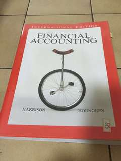 Financial accounting by Harrison horngren