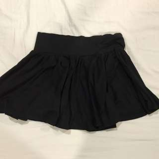 Hm Black Skirt Small