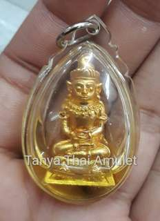 Thai amulets Phra Ngang Joasap bring lucky fortune wealth
