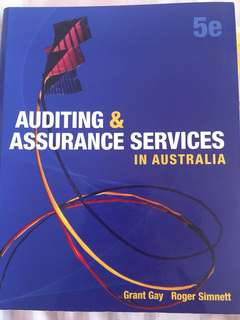 Auditing & Assurance Services in Australia