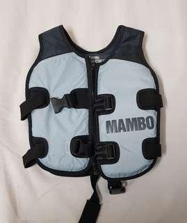 Preowned mambo kids swim vest swimming aid 2-4 yrs 15-20kg