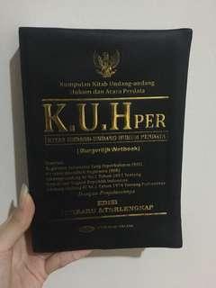 KUHperdata buku hukum kitab undang undang perdata