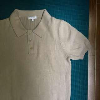 Reiss Knit polo shirt Cos apc ami all saints acne studios