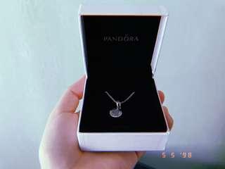 Pandora Clear CZ necklace