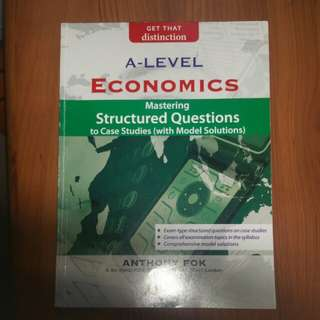 H2 Econs case study practice book