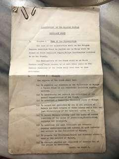 Vintage Socialist Front Constitution