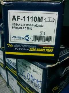 Brake Pad NISSAN CEFIRO 95- A32.A33 PRIMERA 2.0 TP12