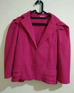 Pink Lolita Blazer
