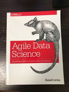 Agile Data Science - Building Data Analytics Applications With Hadoop - O'REILLY