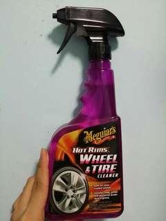 BNIB Meguiar's Hot rim wheel and tire cleaner
