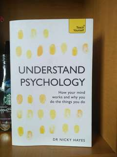 Understand Psychology | Dr Nicky Hayes