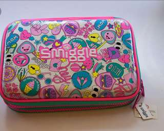 Smiggle double hardtop Pencil Case rm69 NEW