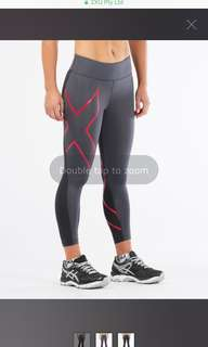 2XU Mid Rise Conpression 7/8 Tights