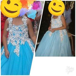 Gown for Stacruzan