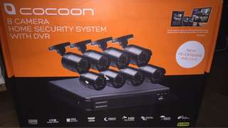 CCTV Camera (8pcs + 1TB DVR)