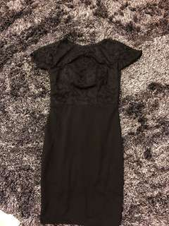 Bn lace bodycon office dress