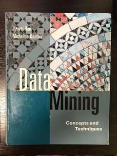 Data Mining Concepts and Techniques - Jiawei Han and Micheline Kamber Hardcover