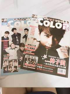 🚚 spexial color雜誌 2015三月號 有贈海報!