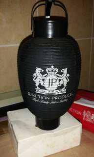 RARE Junction Produce Luxury Black Traditional Japan Lantern #MidMay75