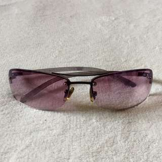 Vintage Purple Square Sunglasses