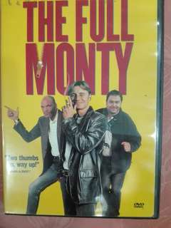 Zone 1 DVD movie - the full monty