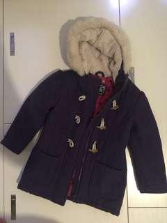 冬天女童大衣