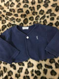 Original YSL crop cardigan