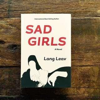 (INSTOCK) SAD GIRLS by lang leav