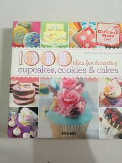 1000 ideas for decorating cupcakes cookies cakes books