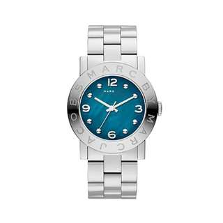 AMY TEAL DIAL STAINLESS STEEL LADIES WATCH MBM3272