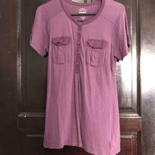 OLD NAVY purple top
