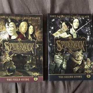 BN Spiderwick Chronicles vol# 1 & 2 @ $10