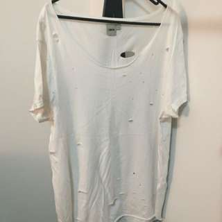 Men's ASOS Holey T Shirt