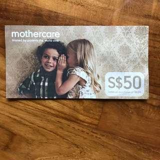 MOTHERCARE: $50 voucher