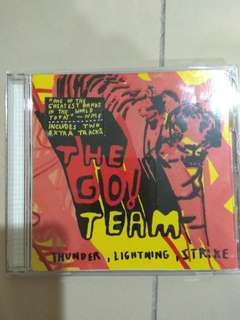 CD The go! Team - Thunder, lightning, strike