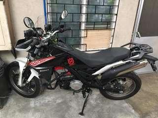 Husqvarna tr650 terra motorcycle