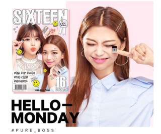 READY STOCKS | 16brand Sixteen Eye Magazine Eyeshadow #2 Hello Monday
